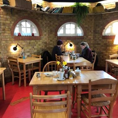seating at cafe van gogh