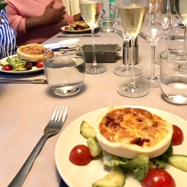 Quiche Lorraine and salad at AllChefs Ltd