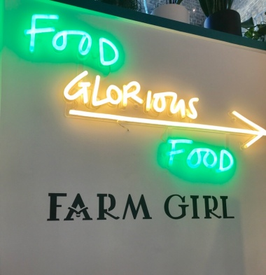 Farm Girl Cafe Sign