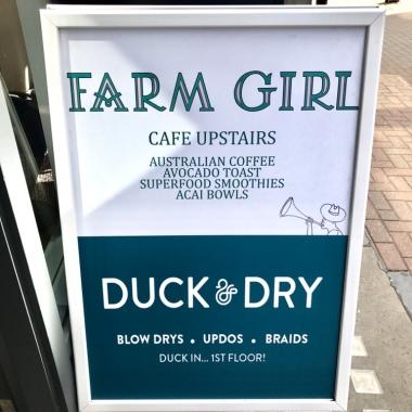 Farm Girl Sign