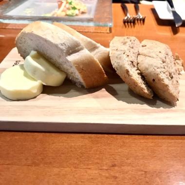 Homemade warm bread
