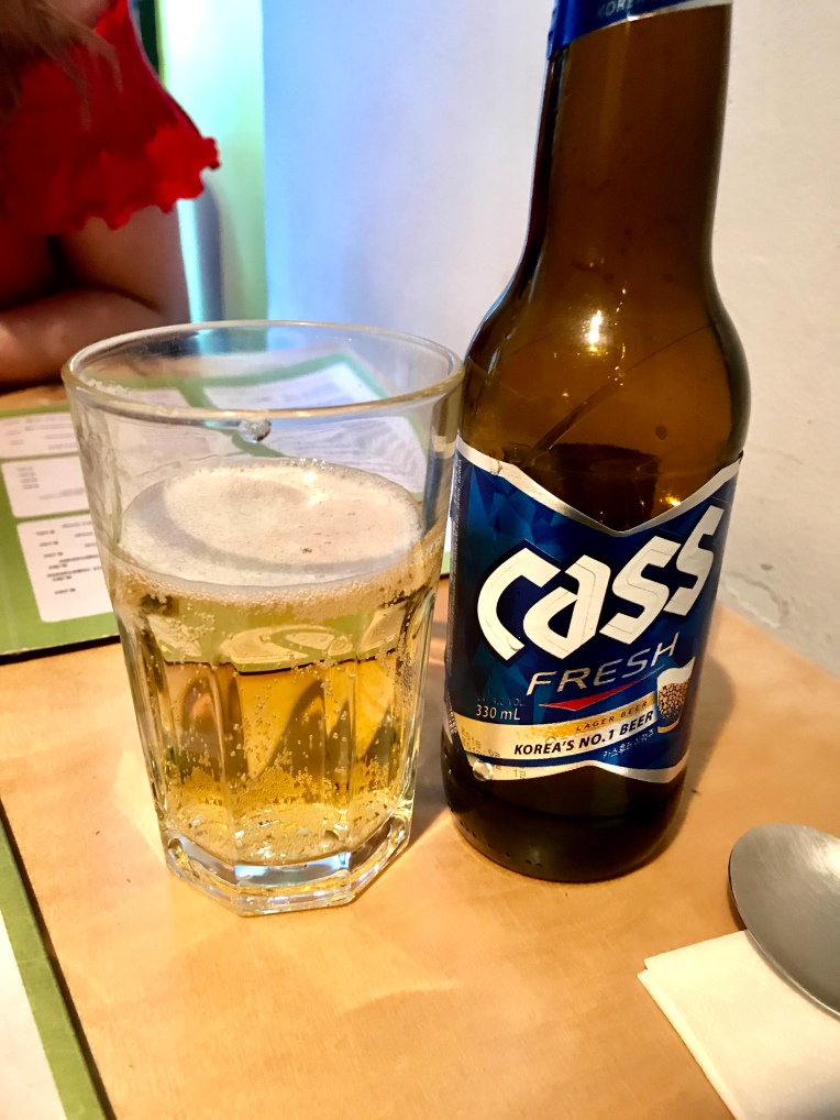 Cass Fresh - Korean Beer