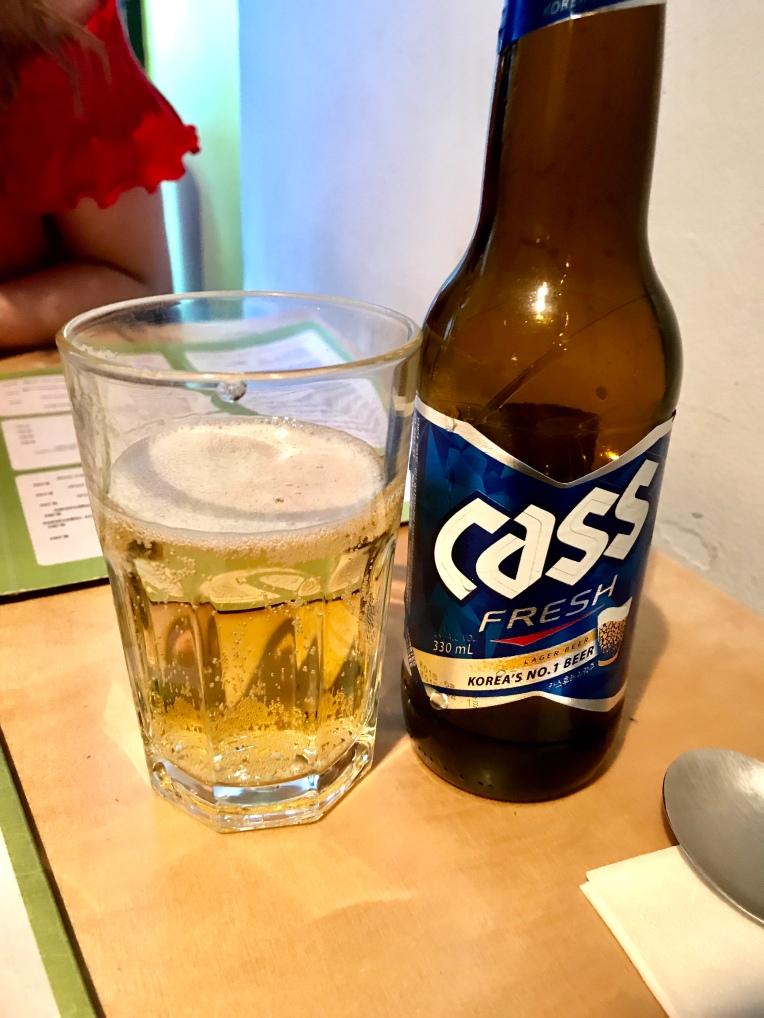 Cass Fresh - Korean Beer
