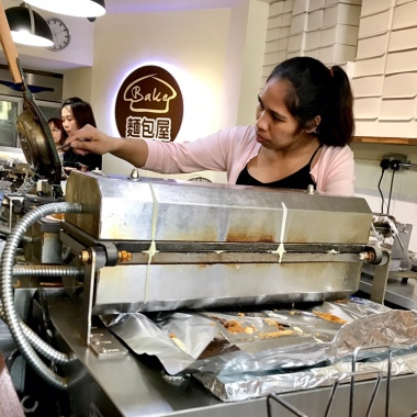 creating bubblewrap ice cream