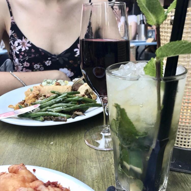 Tibits Heddon St - drinks