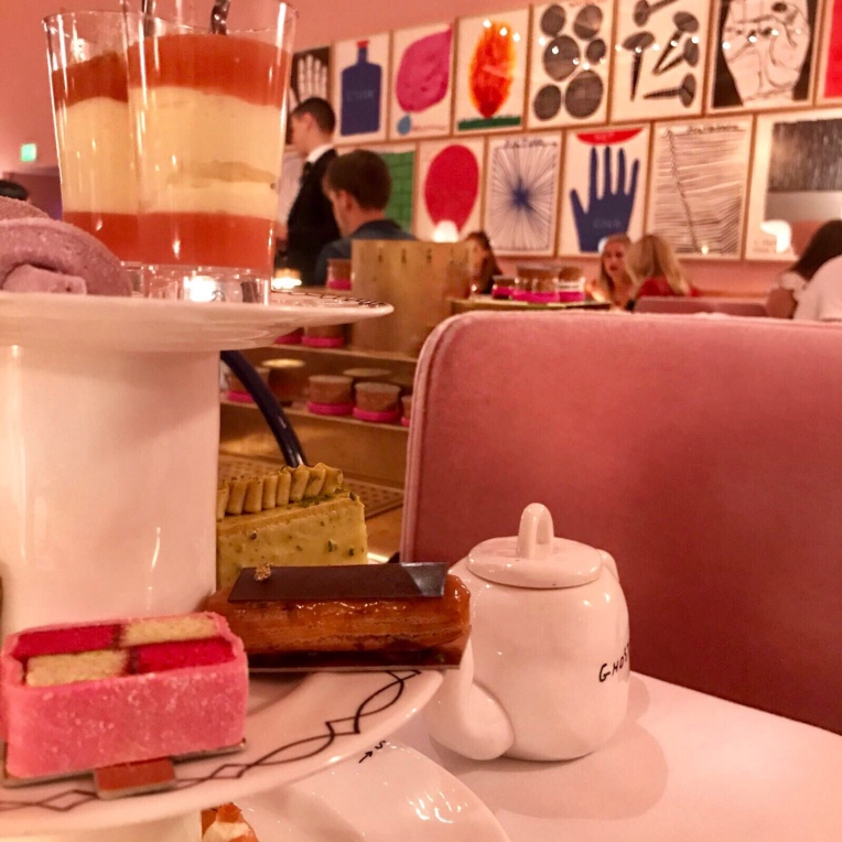 Afternoon tea at Sketch London