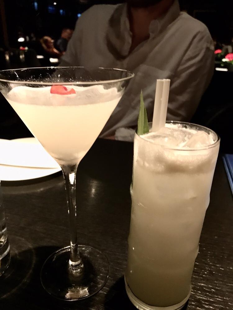 Cocktails at Hakkasan