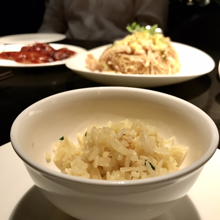 Spring onion and egg fried rice