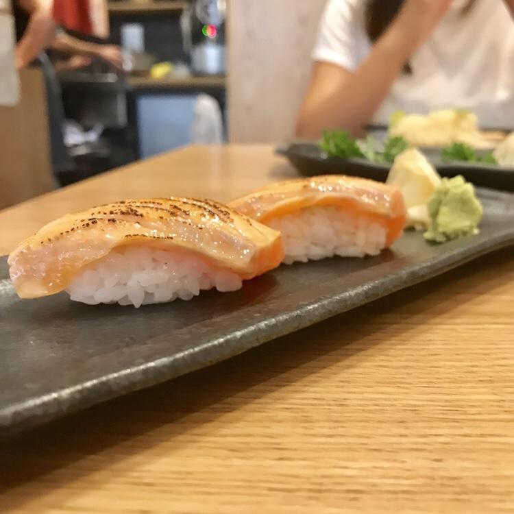 Seared Salmon Nigiri