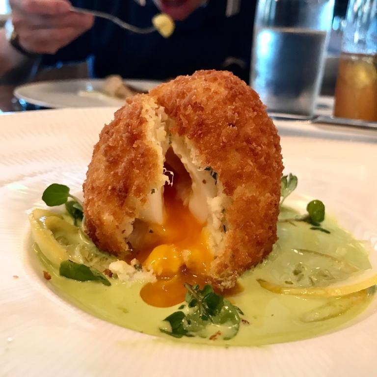 Scotch Egg Smoked Haddock