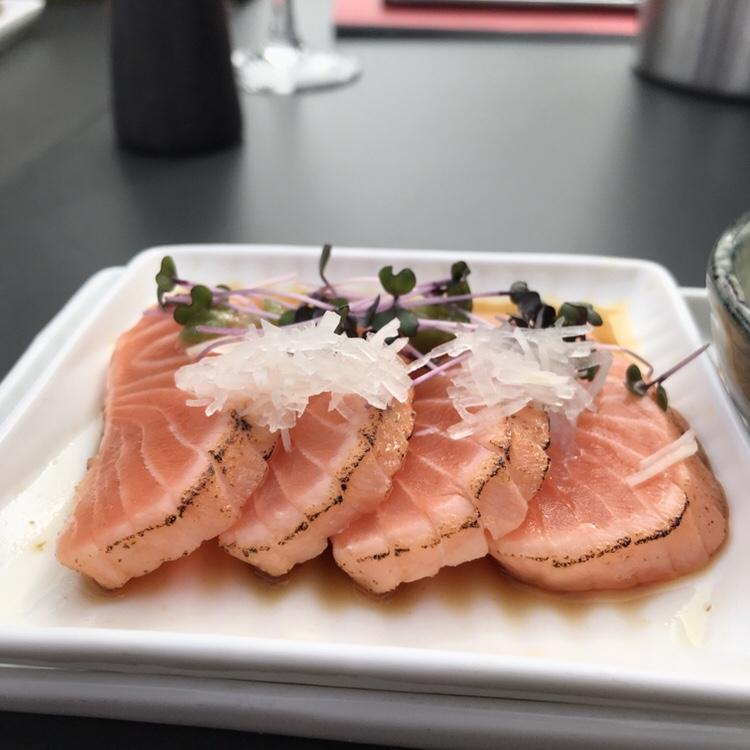 Tataki: salmon