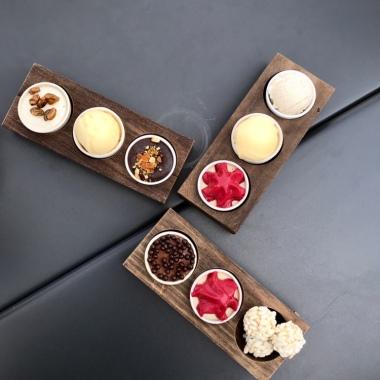 Desserts at Sticks'n'Sushi Oxford