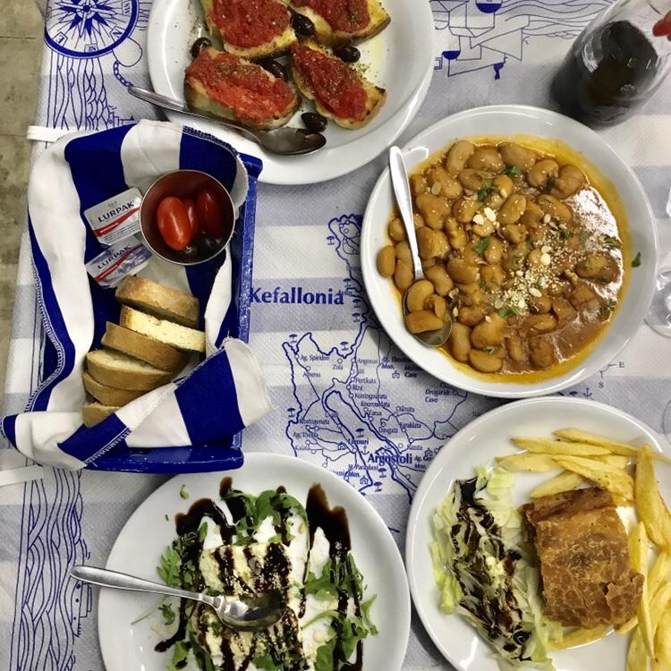 Kalafatis Greek food