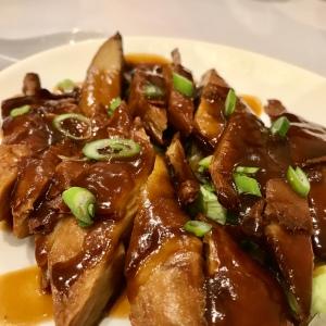 Veggie roasted duck