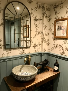 Ladies bathroom at The Greene Oak