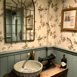 Ladies bathroom at The Greene Oak