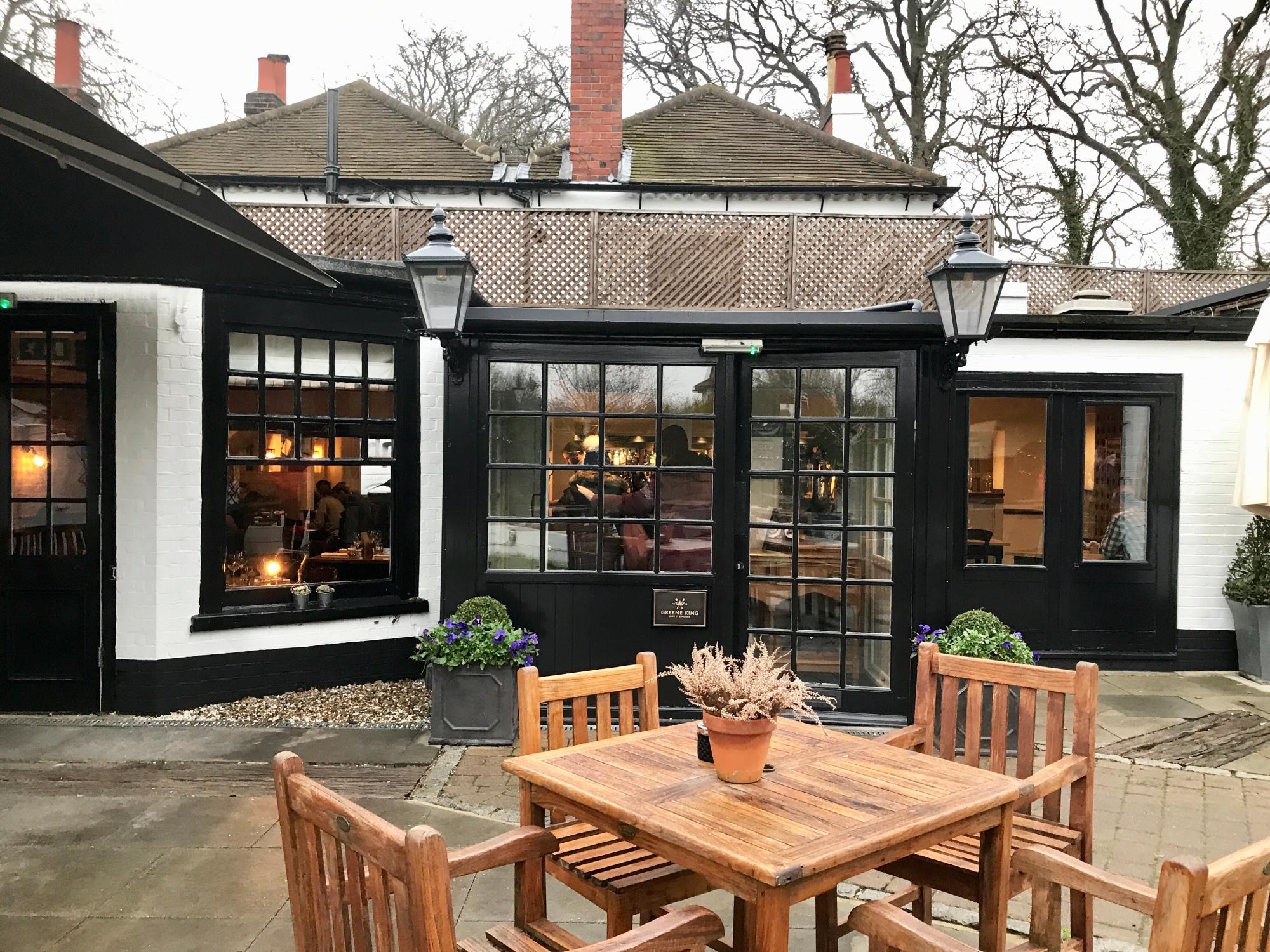 Entrance to The Greene Oak, Windsor Berkshire