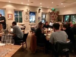 Inside London Street Brasserie, Reading Berkshire