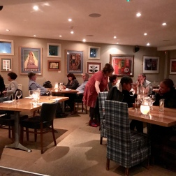 Inside London Street Brasserie, Reading Berkshire