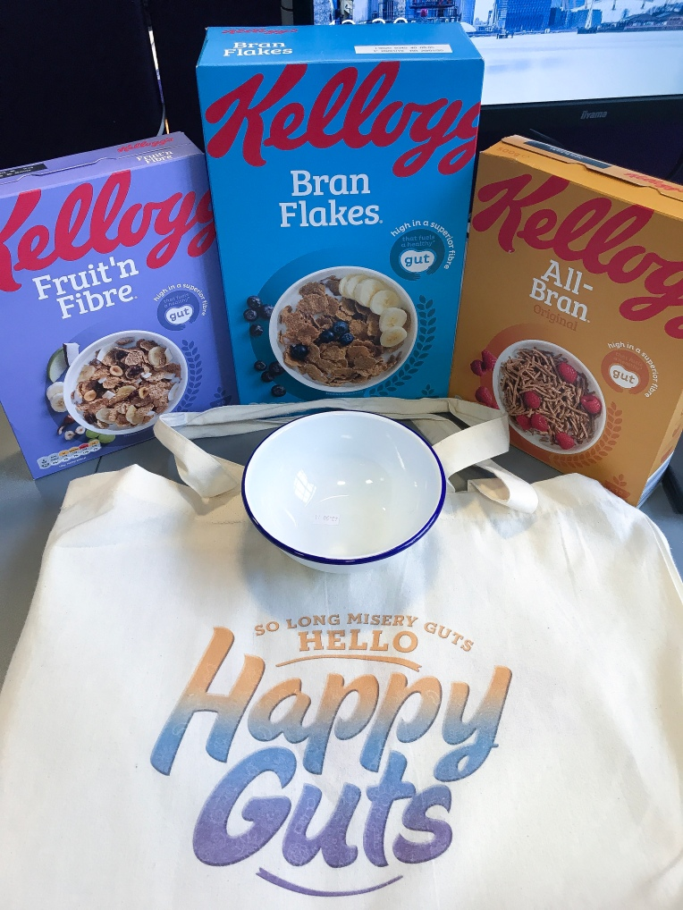 Kellogg's Good Bag from the event