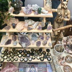 Crystals at Vegan Life Live 2019