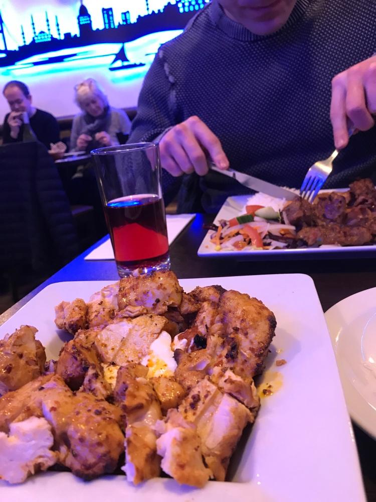 Food at Istanbul BBQ Kitchen