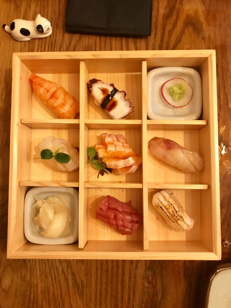 Sushi selection 7pcs