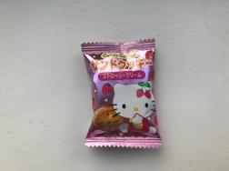 Sanrio Hello Kitty Strawberry Cream Sandwich Biscuit