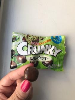 Lotte Crunchy Matcha Green Tea & Cookie Chocolates