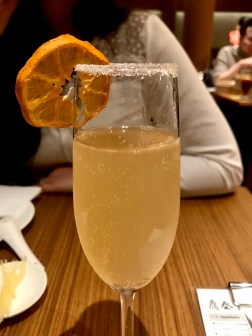 Cocktails at Din Tai Fung Restaurant