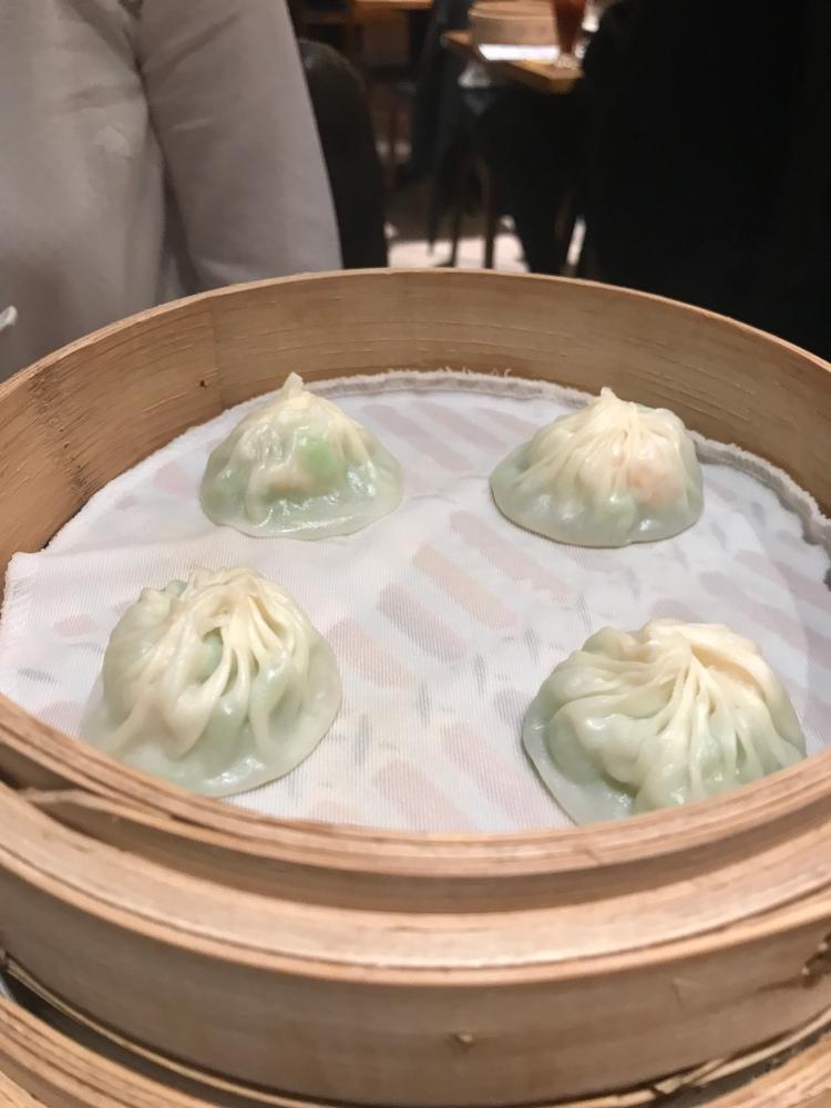 Prawn & Angled Gourd Xiao Long Ba