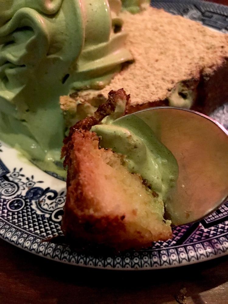Kinako French Toast – with soft serve ice cream