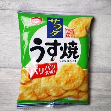 Kamedaseika Thin Salad Rice Crackers
