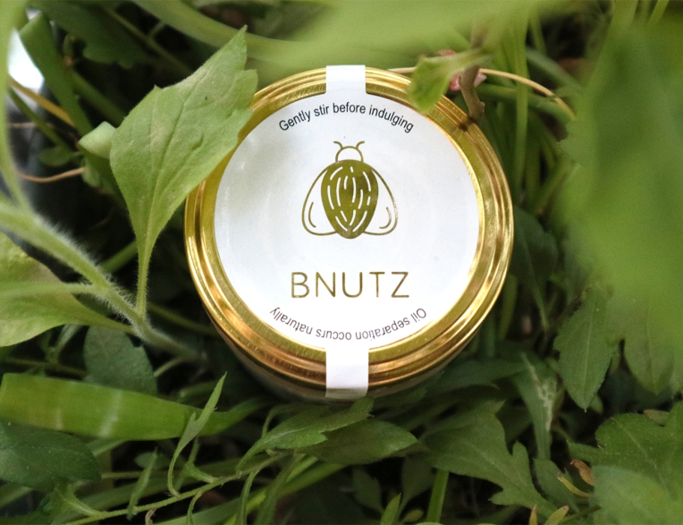 BNUTZ in center stage of all the greenery