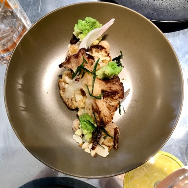 Roasted Cauliflower, date, almond, tarragon