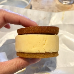 Love Cake Ice Cream Sandwich