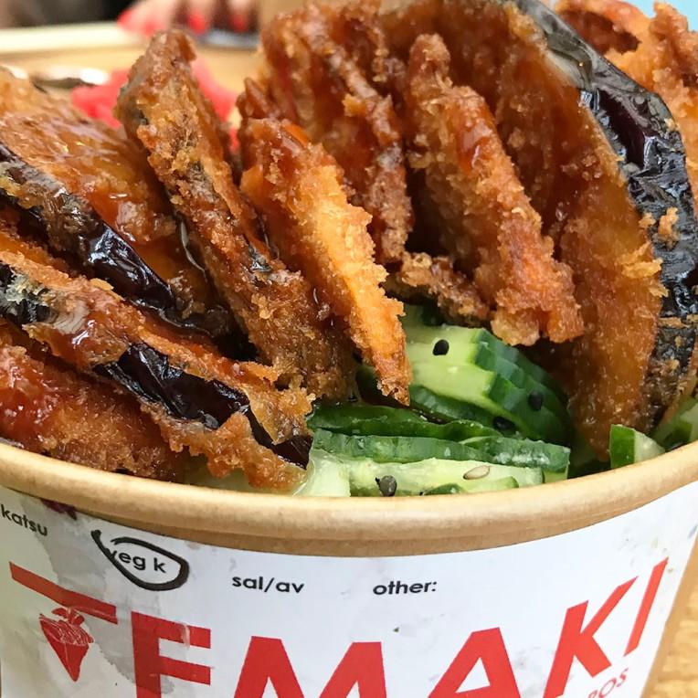 Katsu Japanese Ricebowl (Vegan)