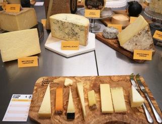 Blocks of cheese everywhere
