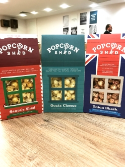 Popcorn Shed new range