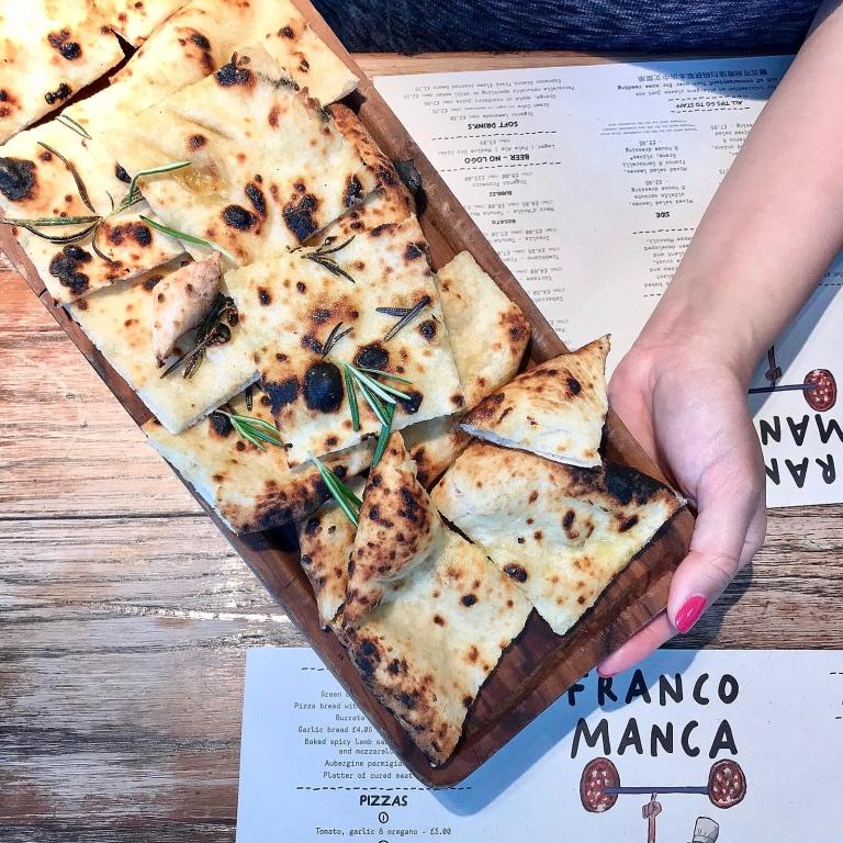 Pizza bread, salt & rosemary