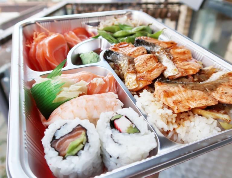 Salmon Teriyaki Bento