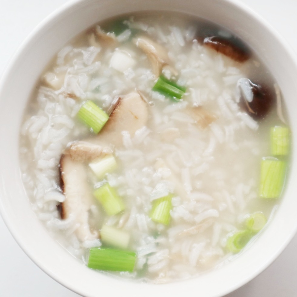 A bowl of congee