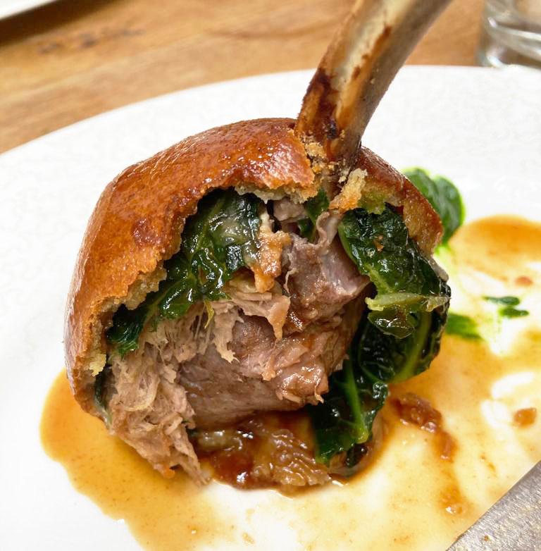 Lamb bun