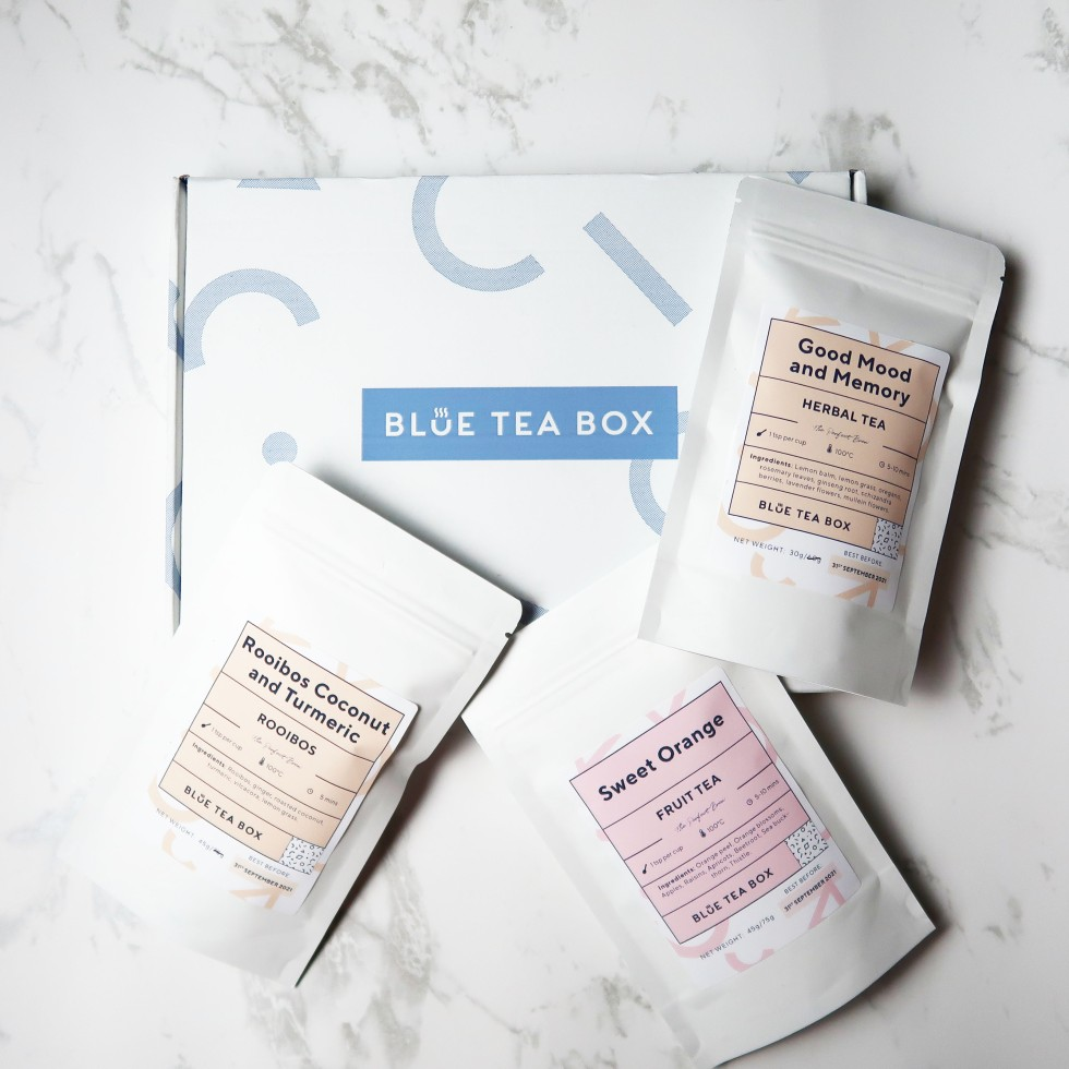 Blue Tea Box Subscription